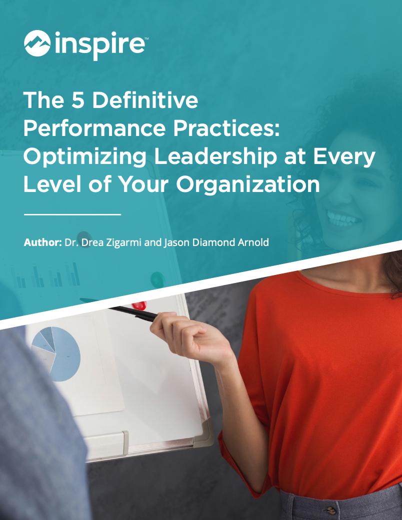 Five Definitive Performance Practices